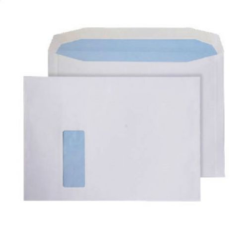 Purely Everyday Mailer Gummed Window White 120gsm C4 229x324mm Ref 6710 Pk 250 *10 Day Leadtime*