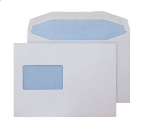 Blake Purely Everyday White Window Gummed Mailer 162X238mm 90Gm2 Pack 500 Code 6804Cbc 3P