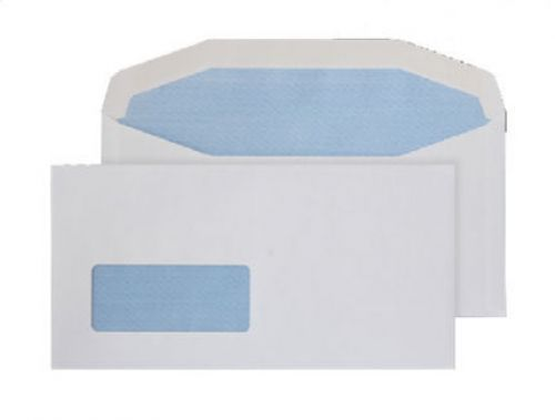 Purely Everyday Mailer Gummed Low Wndw White 90gsm DL+ 121x235 Ref 7114SW Pk1000 *10 Day Leadtime*