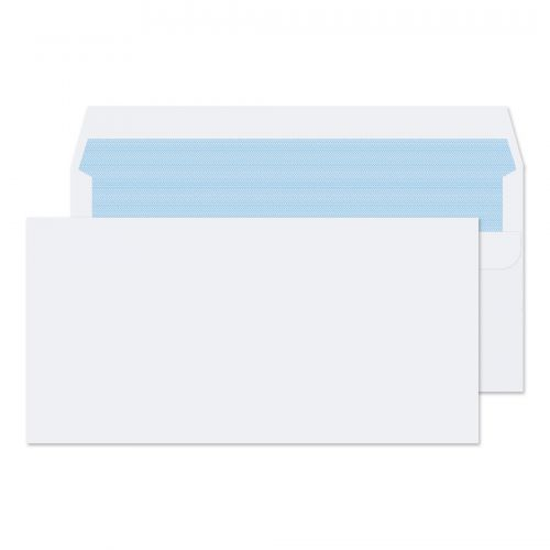Blake Purely Everyday White Self Seal Wallet 110X220mm 100Gm2 Pack 500 Code 7772 3P