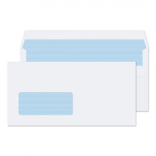 Blake Purely Everyday White Window Self Seal Walle t 110X220mm 100Gm2 Pack 500 Code 7774 3P