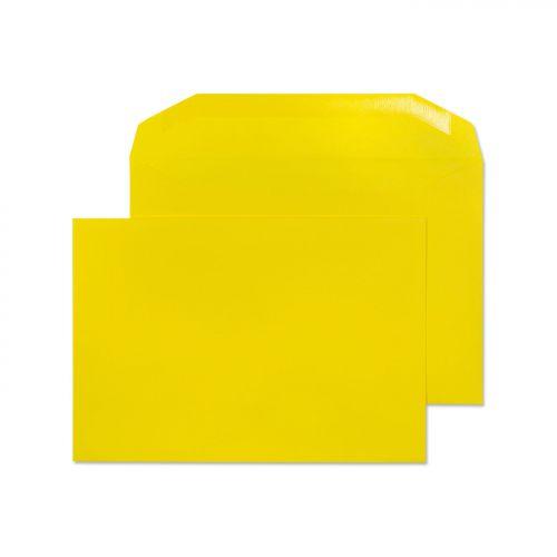Blake Creative Colour Banana Yellow Gummed Mailer 162X235mm 120Gm2 Pack 500 Code 803M 3P