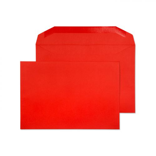Blake Creative Colour Pillar Box Red Gummed Mailer  162X235mm 120Gm2 Pack 500 Code 806M 3P
