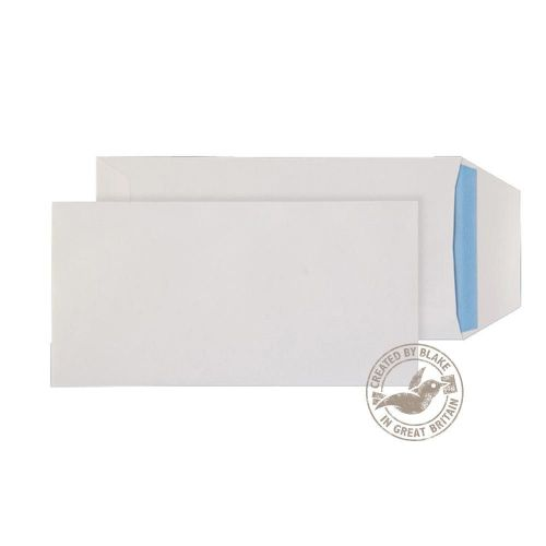 Purely Everyday Pocket Self Seal White 100gsm DL+ 235x121mm Ref 8888 [Pack 500] *10 Day Leadtime*