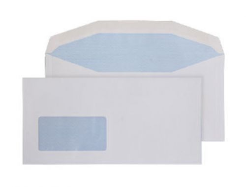 Purely Everyday Mailer Gummed Low Wndw White 100gsm DL+ 114x235 Ref 8904 Pk1000 *10 Day Leadtime*