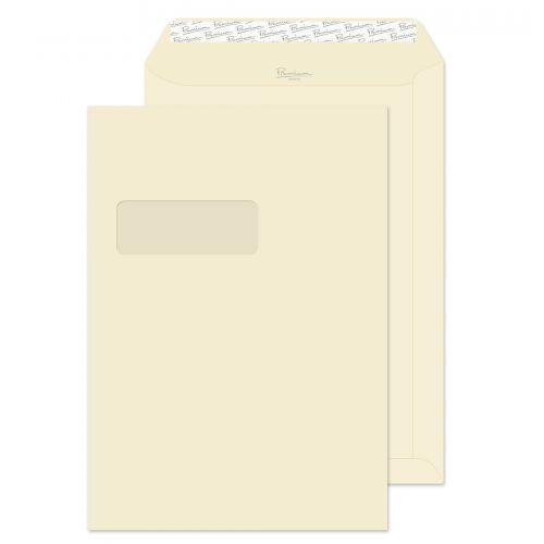 Blake Premium Business Diamond White Laid Window Peel & Seal Pocket 324x229 120g Pk250 Code 91892