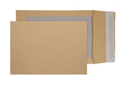 Blake Purely Packaging Manilla Peel & Seal Board Back Gusset 324X229X50mm 120G Pk125 Code 93935M 3P