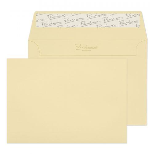 Blake Premium Business Vellum Laid Peel & Seal Wallet 114x162mm 120gsm Pack 25 Code 95154