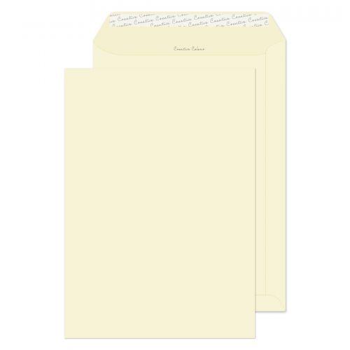 Blake Creative Colour Soft Ivory Peel & Seal Pocke t 324X229mm 120Gm2 Pack 250 Code 952 3P