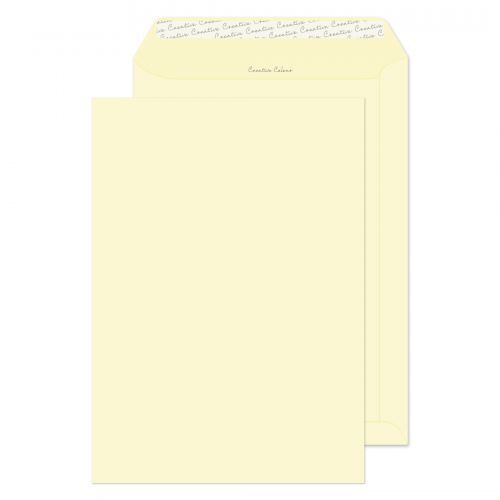 Creative Colour Vanilla Ice Cream P&S Pocket C4 324x229mm Ref 954 [Pack 250] *10 Day Leadtime*