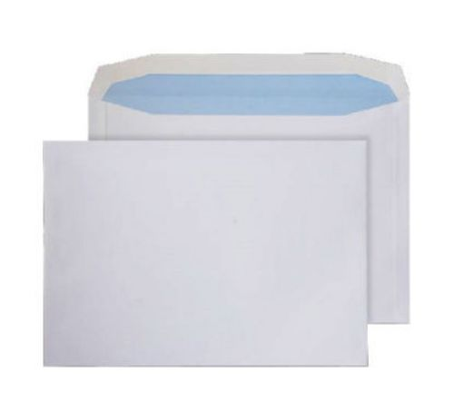Purely Everyday White Gummed Mailing Wallet C4+ 240x330mm Ref 9709 [Pack 250] *10 Day Leadtime*