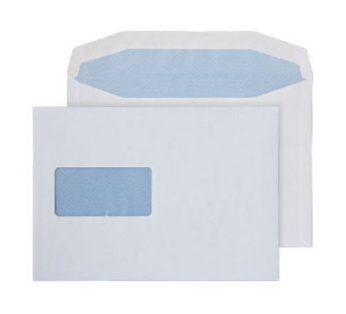 Purely Everyday Mailer Gummed Window White 100gsm C5+ 162x238mm Ref 9808 Pk 500 *10 Day Leadtime*