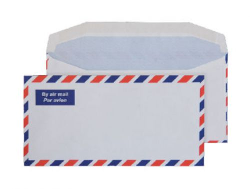Blake Purely Everyday White Gummed Airmail Wallet 110X220mm 80Gm2 Pack 1000 Code A1701 3P