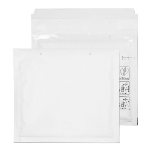 Blake Purely Packaging White Peel & Seal Padded Bubble Pocket 165X180mm 90Gm2 Pack 200 Code Cd 3P