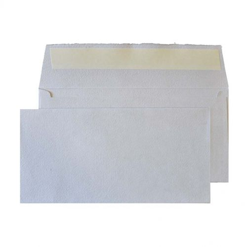 Blake Creative Senses Soft Grey Peel & Seal Wallet  110X220mm 190Gm2 Pack 50 Code De244 3P