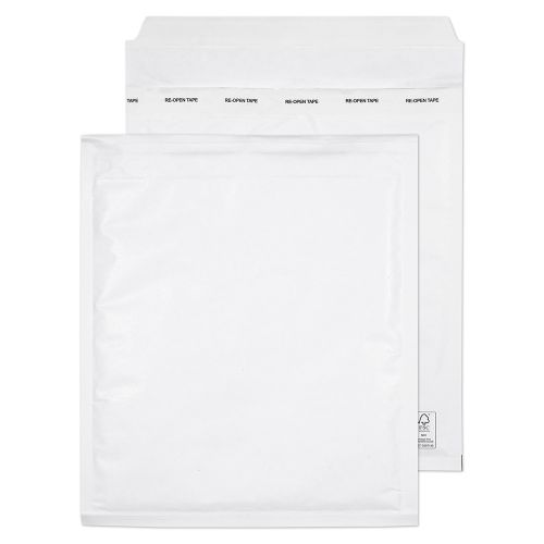 Blake Padded Bubble Pocket P&S White 260x220mm PK100