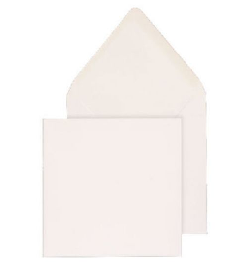 Blake Purely Everyday White Gummed Square Banker Invitation 165X165mm 100G Pk500 Code Env2190 3P