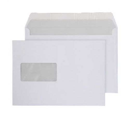Purely Everyday Wallet P&S Window Bright White 120gsm C5 162x229 Ref ENV22 Pk 500 *10 Day Leadtime*