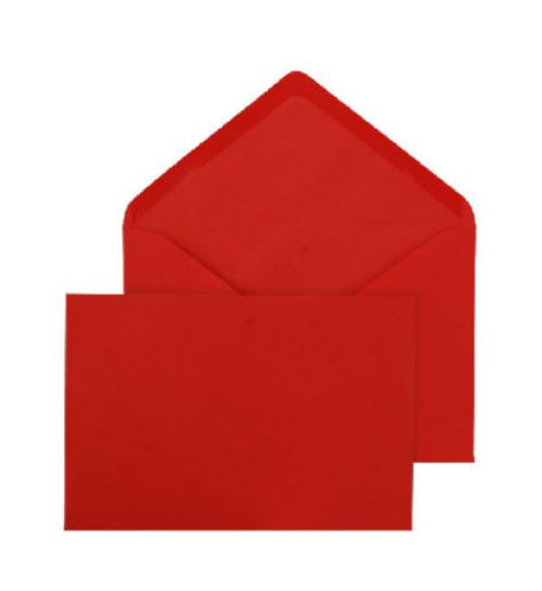 Blake Purely Everyday Red Gummed Banker Invitation 114X162mm 100Gm2 Pack 500 Code Env2662 3P