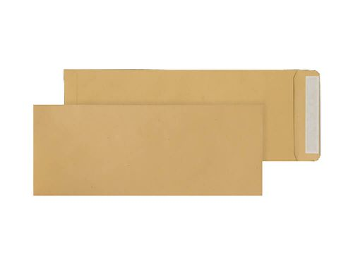 Purely Everyday Pocket Peel and Seal Manilla 115gsm 381x152mm Ref ENV6 [Pack 500] *10 Day Leadtime*