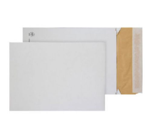 Blake Purely Packaging White Peel & Seal Padded Gusset Pocket 324X229X50mm 140G Pk100 Code Epc4 3P