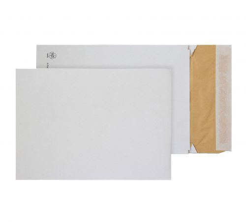 Blake Purely Packaging White Peel & Seal Padded Gusset Pocket 400X280X50mm 140G Pk100 Code Epe4 3P