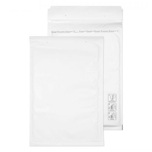 Blake Purely Packaging White Peel & Seal Padded Bubble Pocket 340X220mm 90Gm2 Pack 100 Code F/3 3P