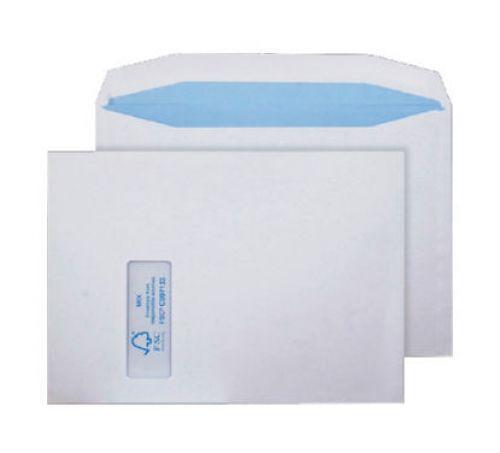 Blake Purely Environmental White Window Gummed Mailer 229X324mm 100Gm2 Pack 250 Code Fsc371 3P