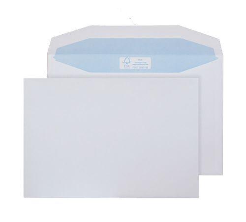 Blake Purely Environmental White Gummed Mailer 162X238mm 90Gm2 Pack 500 Code Fsc477 3P