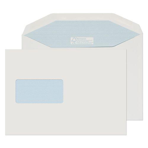 Blake Purely Environmental White Window Gummed Mailer 162x229mm 130gsm Pack 500 Code FSC809