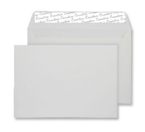 Blake Creative Senses Pure White Peel & Seal Wallet 162X229mm 145Gm2 Pack 125 Code Ft346 3P