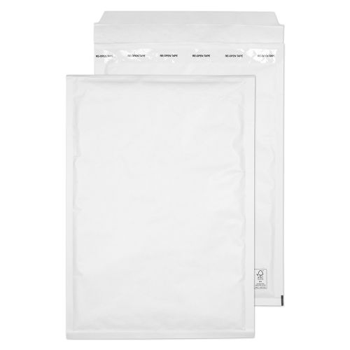 Blake Padded Bubble Pocket P&S White 340x230mm PK100