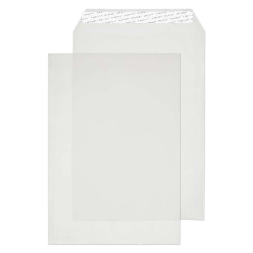 Blake Creative Senses Translucent White P&S Tear Resistant Pocket 324X229 90G Pk250 Code Ice715 3P
