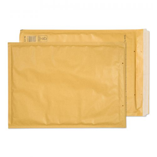 Blake Purely Packaging Gold Peel & Seal Padded Bubble Pocket 320X440mm 90G Pk50 Code J/6 Gold 3P