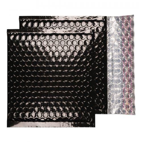 Blake Purely Packaging Oil Black Peel & Seal Padded Bubble Wallet 165X165 70Mu Pk100 Code Mbb165 3P