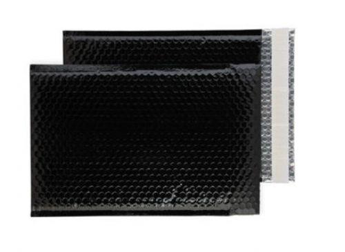 Purely Packaging Envelope P&S 324x230mm Padded Metallic Black Ref MBB324 [Pk 100] *10 Day Leadtime*