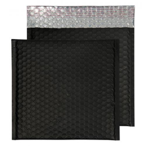 Blake Purely Packaging Jet Black Peel & Seal Square Wallet 230X230mm 70Mu Pack 100 Code Mtb230 3P