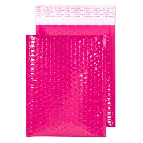 Blake Purely Packaging Pink Neon Gloss Peel & Seal Pocket 250X180mm 70Mu Pack 100 Code Ngp250 3P