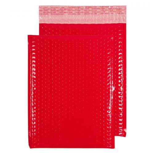 Blake Purely Packaging Red Neon Gloss Peel & Seal Pocket 340X240mm 70Mu Pack 100 Code Ngr340 3P