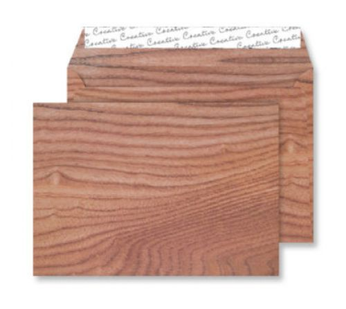 Creative Senses Wallet P&S Polished Oak 135gsm C5 162x229mm Ref NT351 [Pack 125] *10 Day Leadtime*