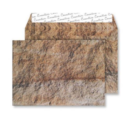 Creative Senses Wallet P&S Jurassic Limestone 135gsm C5 162x229 Ref NT354 Pk 125 *10 Day Leadtime*