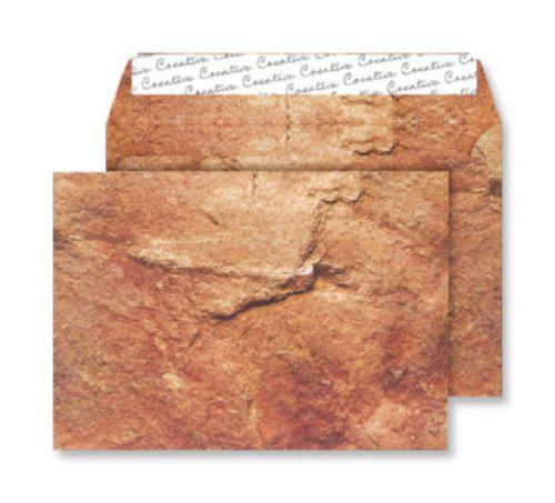 Blake Creative Senses Yorkshire Sandstone Peel & S eal Wallet 162X229mm 135Gm2 Pack 125 Code Nt355 3