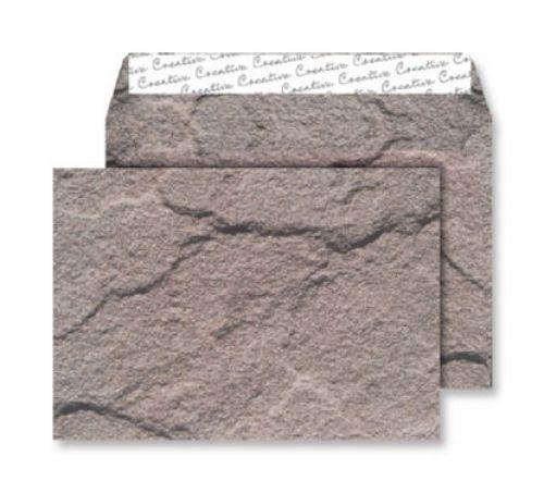 Blake Creative Senses Dartmoor Granite Peel & Seal Wallet 162X229mm 135Gm2 Pack 125 Code Nt356 3P