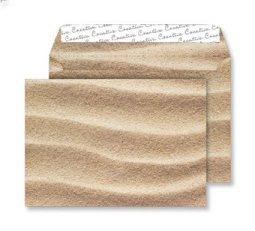 Creative Senses Wallet P&S Sahara Sand 135gsm C5 162x229mm Ref NT360 [Pack 125] *10 Day Leadtime*
