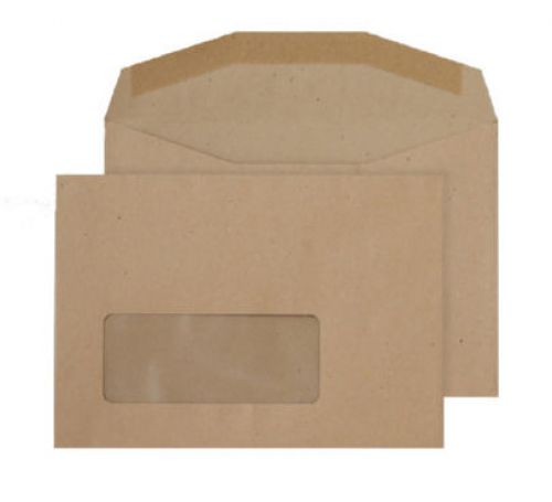 Blake Purely Everyday Manilla Window Gummed Mailer 114X162mm 80Gm2 Pack 1000 Code Nv358 3P