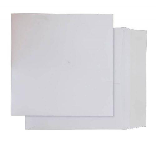 Blake Purely Packaging Ultra White Card Peel & Seal Card Wallet 165X165mm 210G Pk250 Code Op065 3P