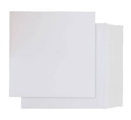 Blake Purely Packaging Ultra White Card Peel & Seal Card Wallet 240X240mm 210G Pk125 Code Op730 3P