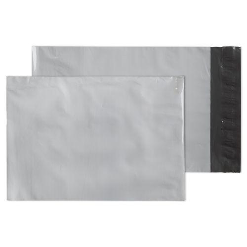 Blake Purely Packaging White Peel & Seal Polythene Pocket 165x238mm 60Mu Pack 1000 Code PE22/W