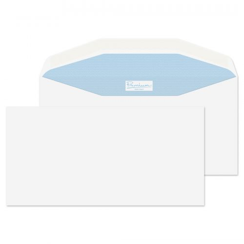 Blake Premium Postfast Mailing Wallet Gum White DL+ 114x229 90gsm Ref PF703 Pk500 *10 Day Leadtime*