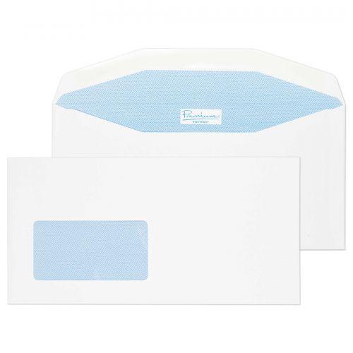 Blake Premium Postfast White Window Gummed Mailer 114X229mm 90Gm2 Pack 500 Code Pf704Dg 3P
